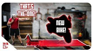 BIDDING on the NEW MOTORCYCLE!! [Wrecked Bike Rebuild - S2 - Ep 01] thumbnail