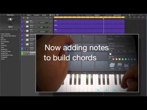 ChordPolyPad Creating Chords