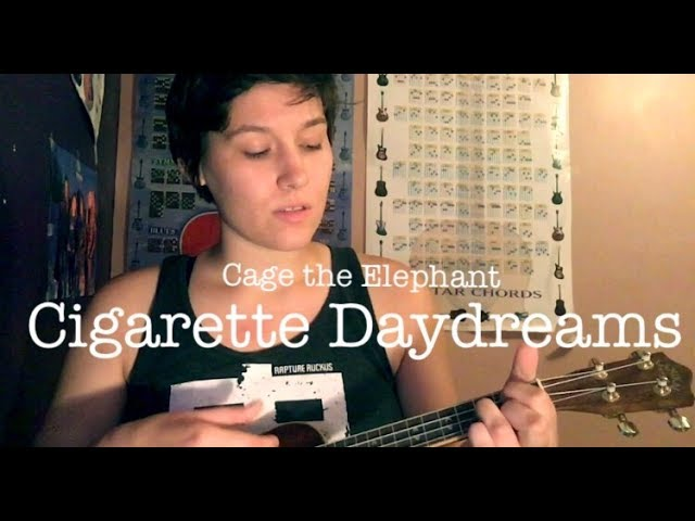 Cigarette Daydreams - Cage The Elephant - guitar cover ...