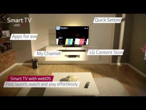 شاشة LG 43LF630V LED HD 1080p Smart TV, 43  with Freeview HD and Built In Wi Fi
