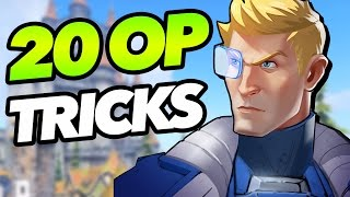 20 Tricks Soldier:76 Grandmasters ABUSE That You Don't - Overwatch