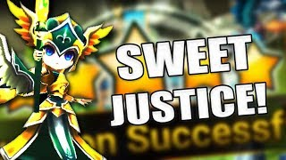 if this video had a luck graph.. - Summoners War
