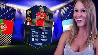 OMFG! I PACKED PAUL POGBA! ALL TOTY FIFA 18 PACK OPENING!