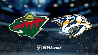 Rinne's 31-save shutout leads Preds past Wild, 3-0