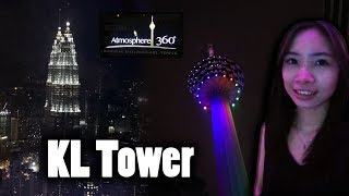Video KL Tower Atmosphere 360 Revolving Restaurant download MP3, 3GP, MP4, WEBM, AVI, FLV Juli 2018