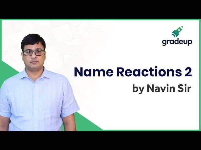 Aldehyde and Ketone: Name Reactions 2 | Organic Chemistry | JEE Main Jan 2019