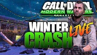 WINTER CRASH! Modern Warfare Remastered LIVE 2019 Gameplay!