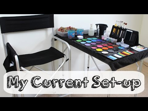 My Face Painting Set Up