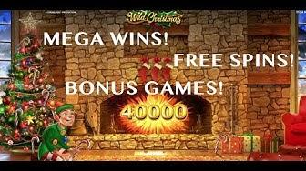 MEGA WIN! Wild Christmas - Casino - Bonus Rounds