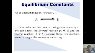 Chapter 15 – Chemical Equilibrium: Part 1 of 12