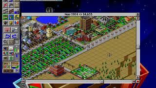 SimCIty 2000 (1993) gameplay