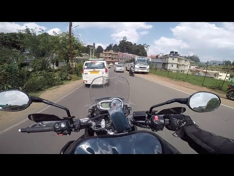 Hyderabad to OOTY on Triumph Tiger   It's 12 Degrees in Summer !!