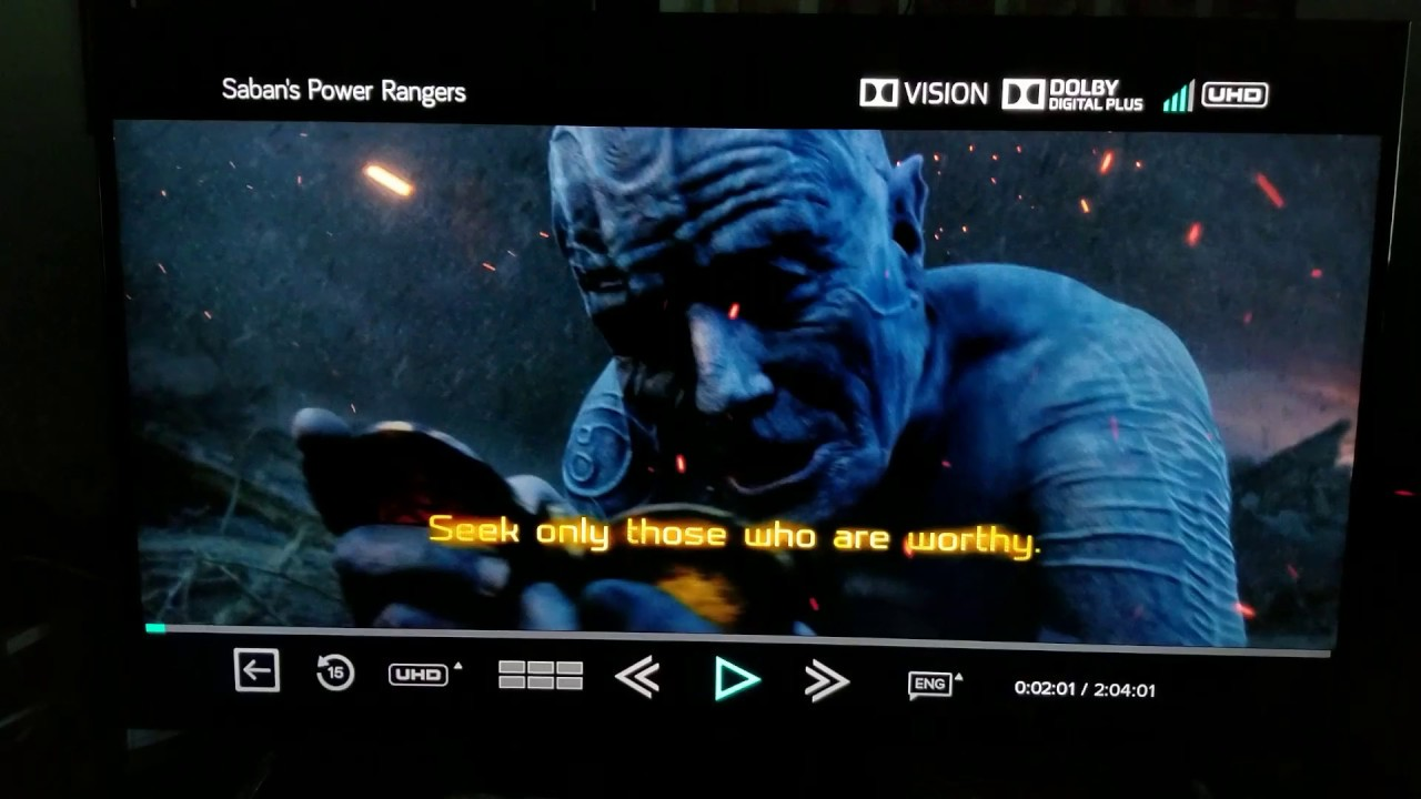 Power Rangers 4K [][] Dolby Vision Custom Calibration for TCL Roku TV 55p605
