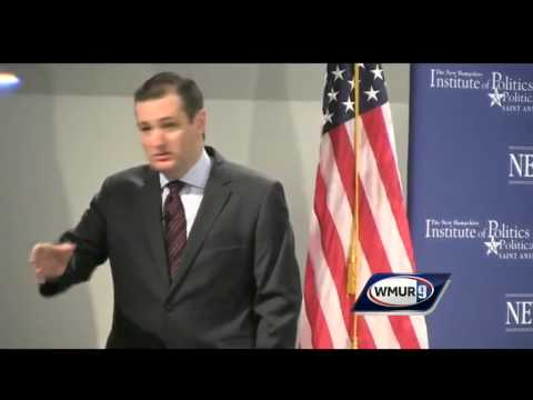 Raw video: Ted Cruz at Politics and Eggs
