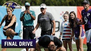 Justin Tucker Talks About Carli Lloyd's Kicking Skills | Ravens Final Drive