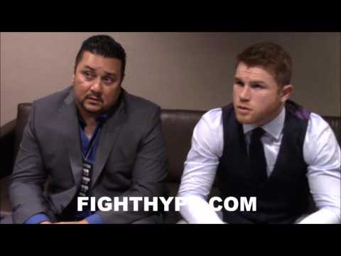 CANELO PRAISES ANDRE WARD'S BODY WORK AGAINST KOVALEV; NOTES THAT WILL BE KEY AGAINST GOLOVKIN