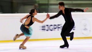 Елизавета Худайбердиева и Андрей Филатов - победители соревнований танцевальных дуэтов!