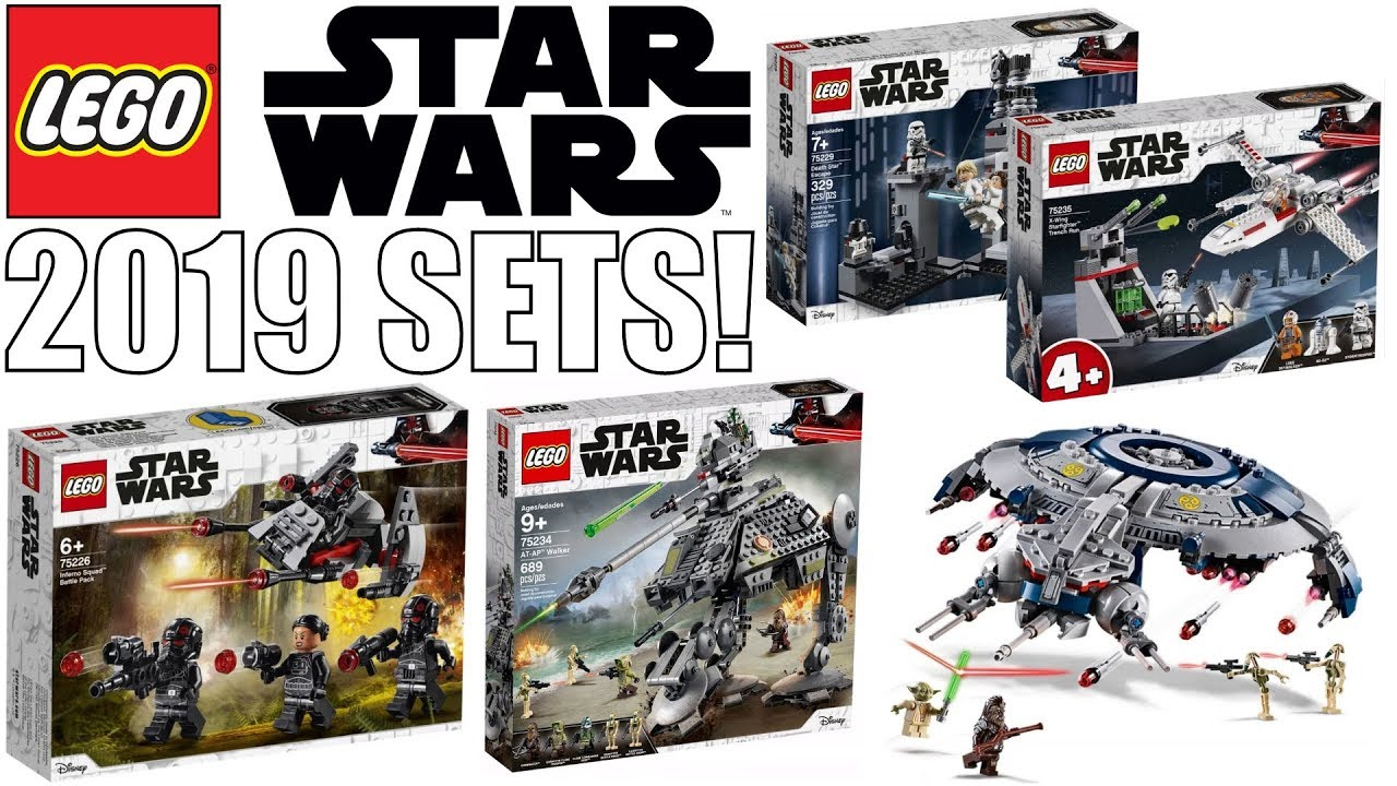 new lego star wars winter 2019 set pictures youtube. Black Bedroom Furniture Sets. Home Design Ideas