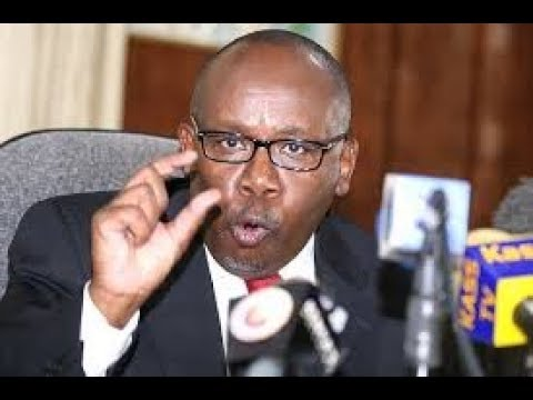 AG Githu Muigai tells Raila Odinga to prepare to be charged with treason if he's sworn in
