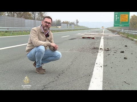 Srbija: Autoput propada i prije upotrebe