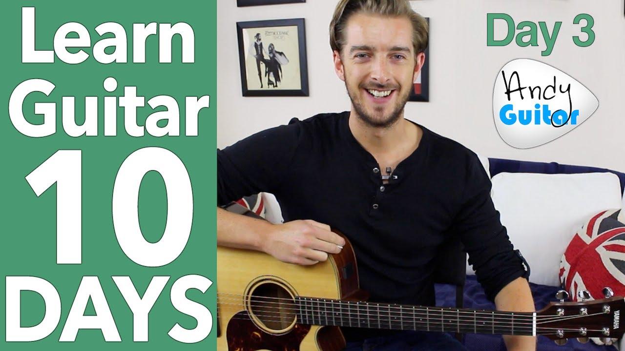Guitar Lesson 3 - 'Three Little Birds' Guitar Tutorial [10 ...