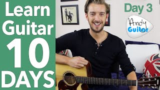 Guitar Lesson 3 - 'Three Little Birds' Guitar Tutorial [10 Day Guitar Starter Course]