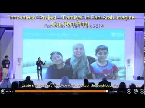 Innovatech Project Familya in Pan Arab Imagine Cup Semi Final