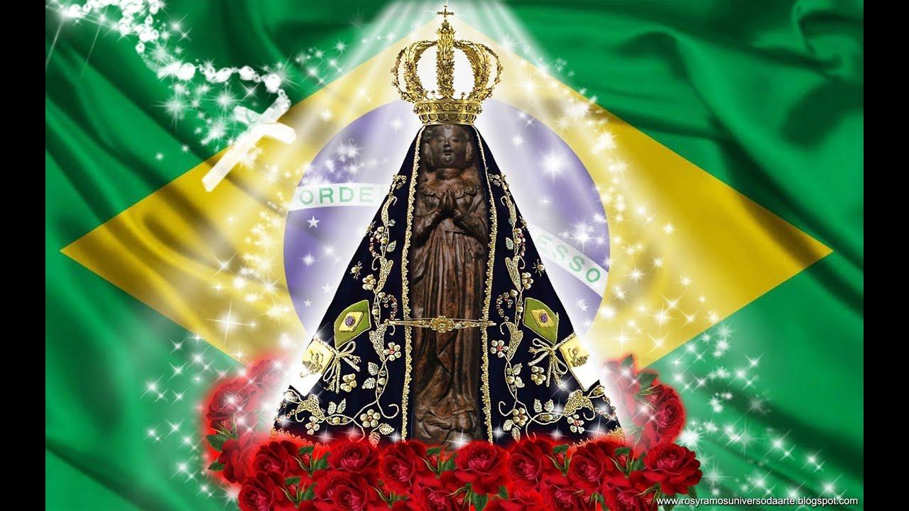 Icatolica Com Nossa Senhora Da Conceição Aparecida: ORAÇÃO A NOSSA SENHORA DA CONCEIÇÃO APARECIDA NA VOZ DE