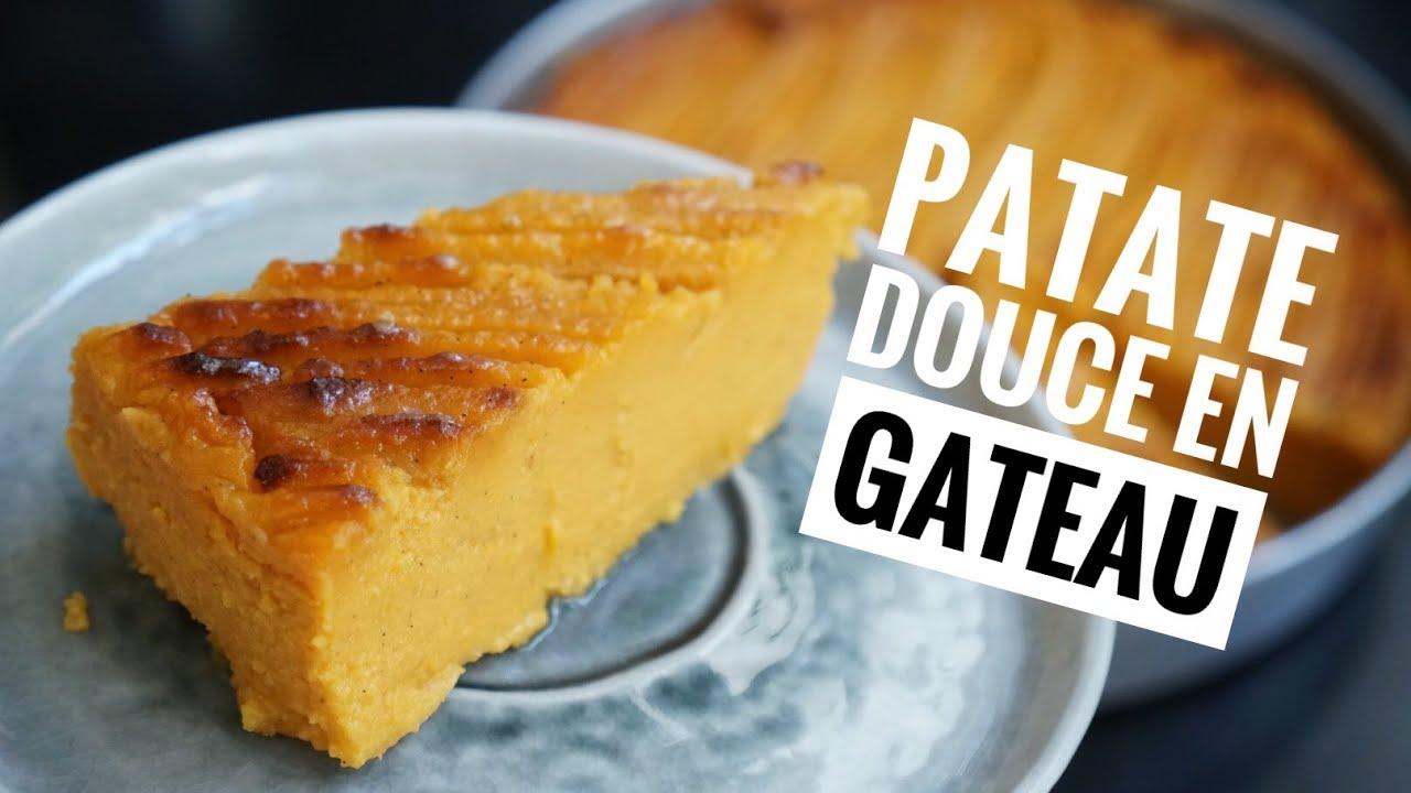 La Recette Du Gateau De Patate Douce C Est Extra Youtube