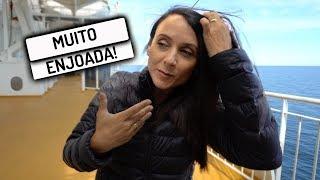 ENJOADA COM O BALANÇO DO BARCO | Travel and Share | Romulo e Mirella | T4 Ep. 276