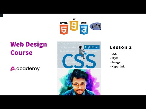 Web Design | Lesson 2 | CSS Styling