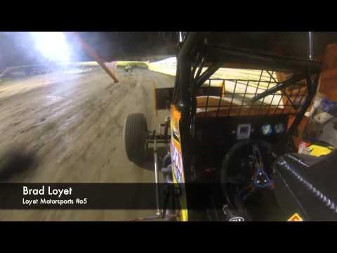 Brad Loyet Creek County Speedway