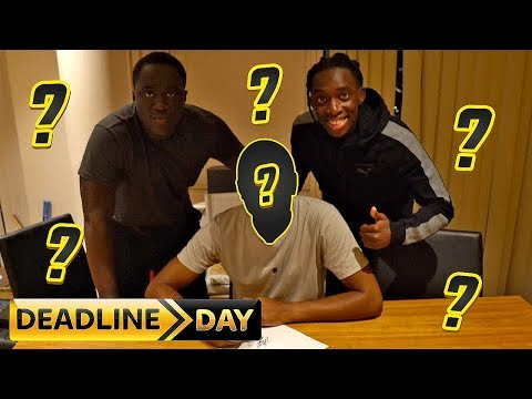 DEADLINE DAY SIGNINGS!!! THE SUNDAY TEAM IS TAKING SHAPE!