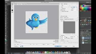 How to remove a white background or make it transparent in photoshop thumbnail