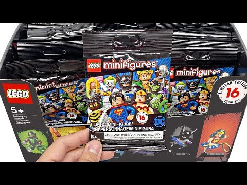 LEGO DC Super Heroes Minifigures - 50 Pack Opening!
