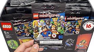 видео: LEGO DC Super Heroes Minifigures - 50 pack opening!