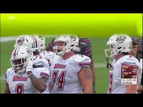 2017 NCAA Football Week 10: Mississippi State vs UMass