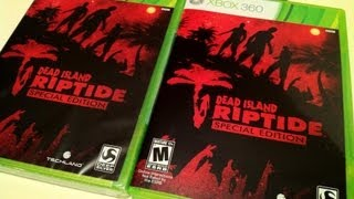 """""""DEAD ISLAND RIPTIDE SPECIAL EDITION"""" UNBOXING - 2 WEEKS EARLY!"""