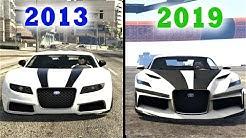 Evolution Of GTA Online 2013 vs 2019