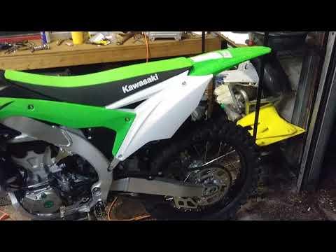 Dirt bike garage and bike update