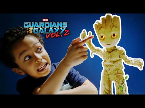 NEW BABY GROOT Dancing Figure Guardians Of The Galaxy Vol 2 REVIEW ! GOTGV2