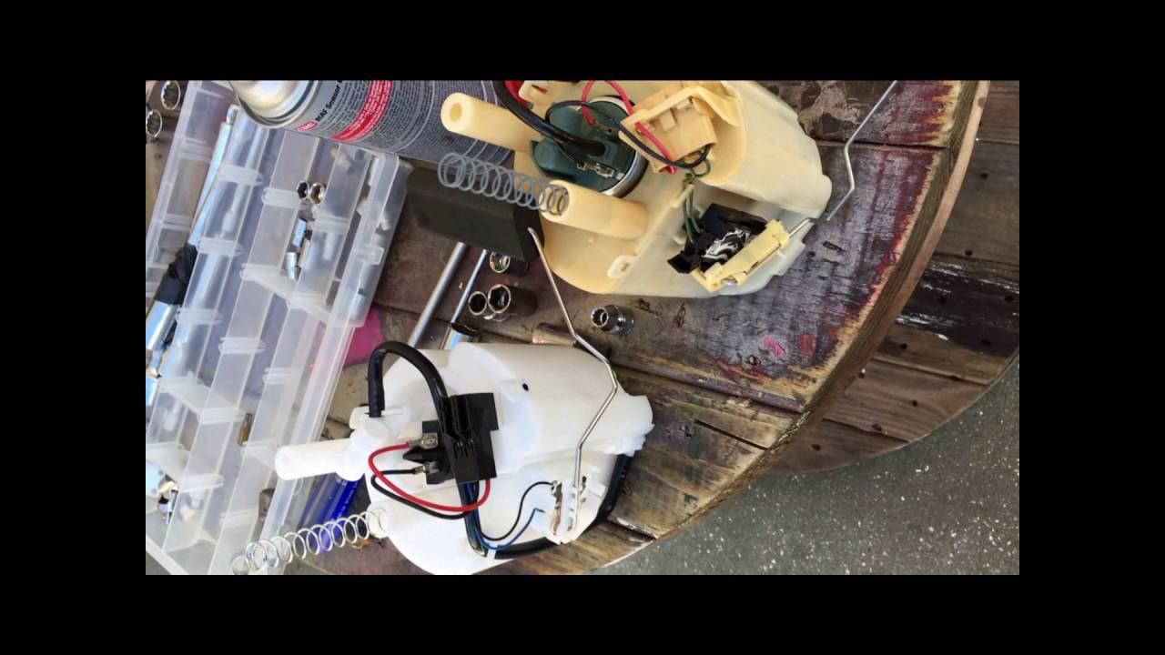 mercedes benz c240 crank no start fix part 2fuel pump replacement [ 1280 x 720 Pixel ]