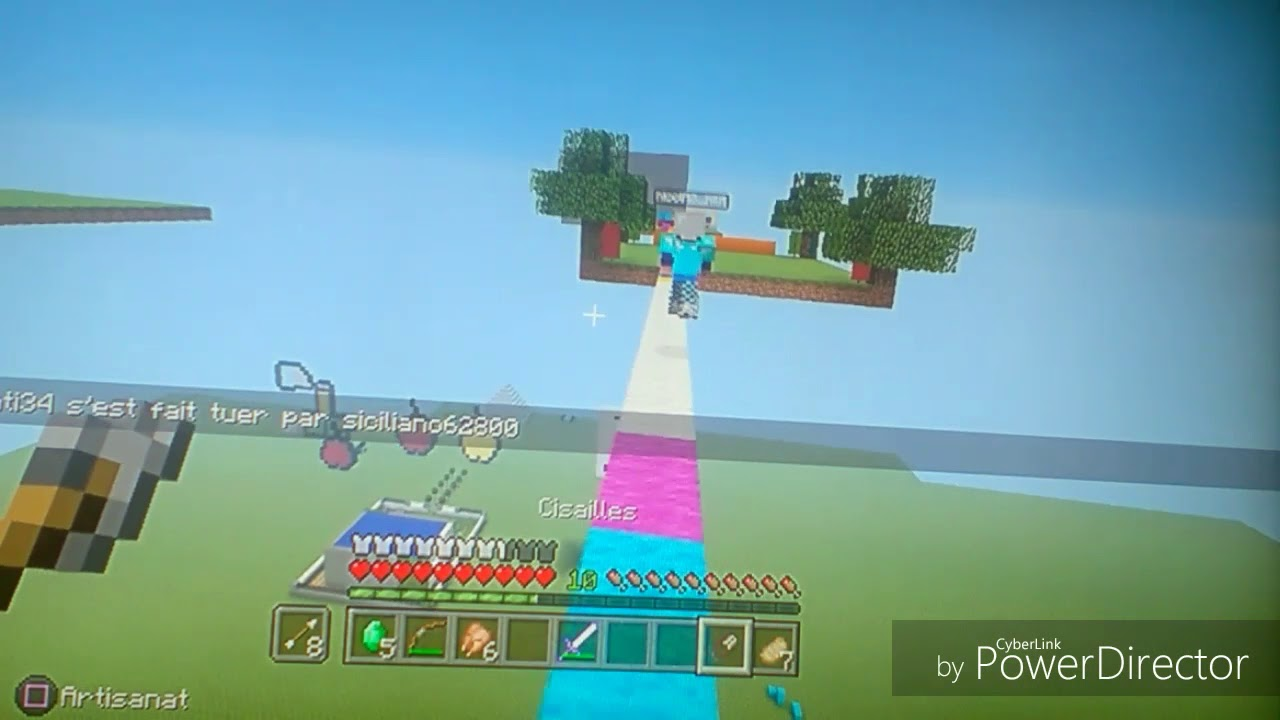 Minecraft ps3 : bedwars - YouTube