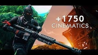 Fortnite Cinematic Pack Free To Use! - 1750 Cinematics