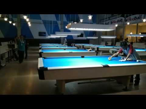 Kejurnas Billiard 2017 : Irwanto Bali VS Ambi Jatim di Final 15 Ball (Part 1)