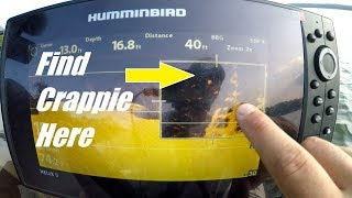 How to Find Crappie with Down Imaging Sonar (How to Locate Crappie 2018)