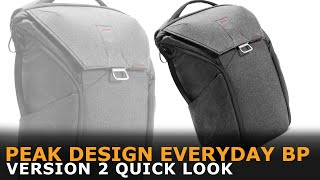 Peak Design Everyday Backpack Version 2 | Quick Look