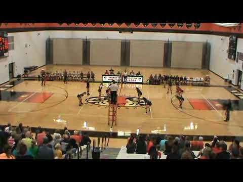 Troy High School vs Versailles 2017 Volleyball Part 1