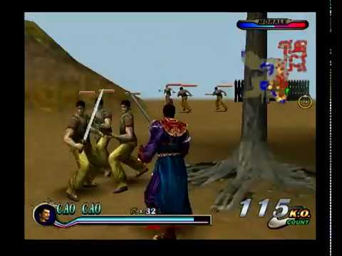 Dynasty Warriors 2 - The Yellow Turban Rebellion - He Jin Forces: Cao Cao (Español)