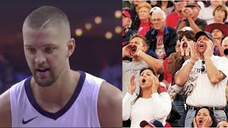 Chandler Parsons BOOED by Home Crowd After Missing Free Throws